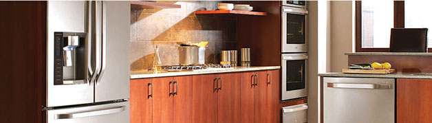 Add space and elegance with the slim kitchen design LG