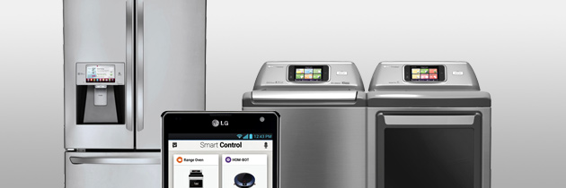 GIVE YOUR HOME AN ADVANCED DEGREE WITH LG SMART APPLIANCES