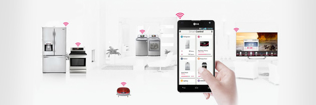 LG SMART HOME SERVICE MAKES SMART HOME CONVERGENCE A REALITY