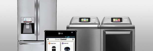 LG HomeChat™ Makes It Easy  to Communicate* with Smart Appliances.