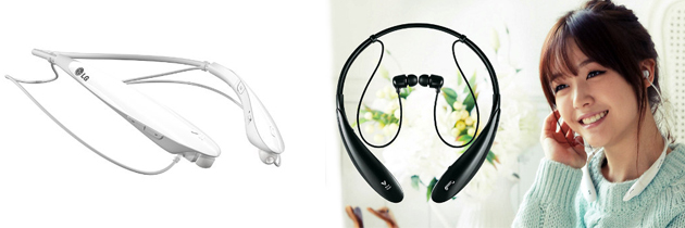 LG TONE ULTRA™ Wireless Stereo Headset Premium sound and exceptional design!