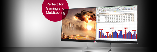 THE BIG PICTURE OF PRODUCTIVITY LG IPS 21:9 ULTRAWIDE MONITORS