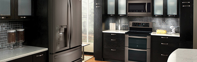 How Black Stainless Steel Inspires A Black Tie Kitchen