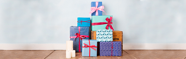 Turn wrapping presents into an art form