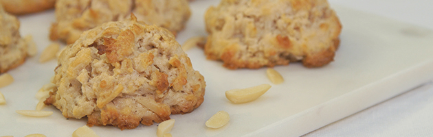 Good little boys and girls should get Maple Almond Scones