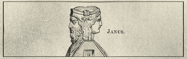 Who is Janus, and what does he know about January?