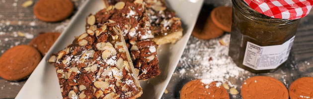 Raise the snacking bar with Rhubarb Jam Bars