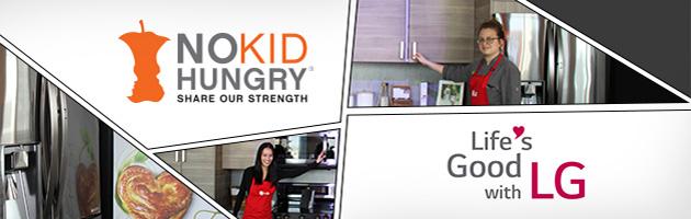 LG teams up to help end childhood hunger
