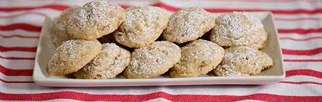 Butterscotch & Salted Almond Holiday Cookies