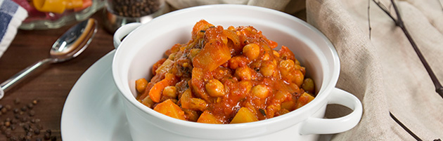 Moroccan Potato and Chickpea Stew