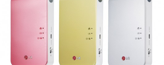 LG Pocket Photo 2.0. The Go-Anywhere Picture Printer.