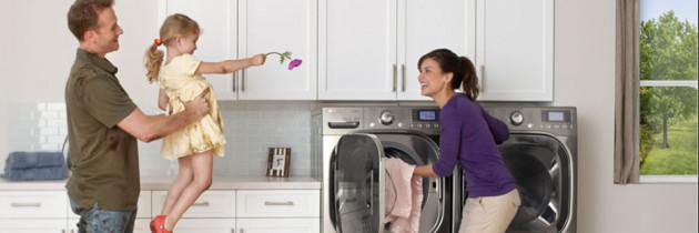 LG Innovation Takes Laundry  on a Revolutionary Spin.