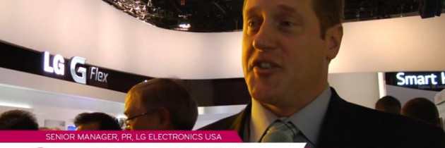 Chaz Abbott Discusses the LG G Flex | LG at CES 2014